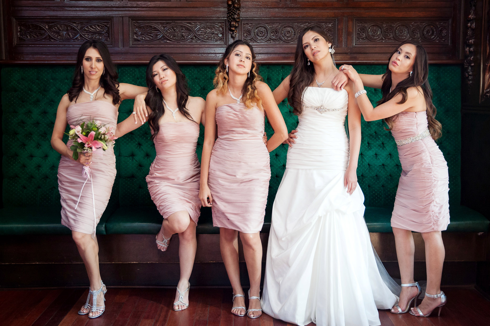 Los Angeles Wedding Photography Mission Inn Riverside Photographer Bridesmaids