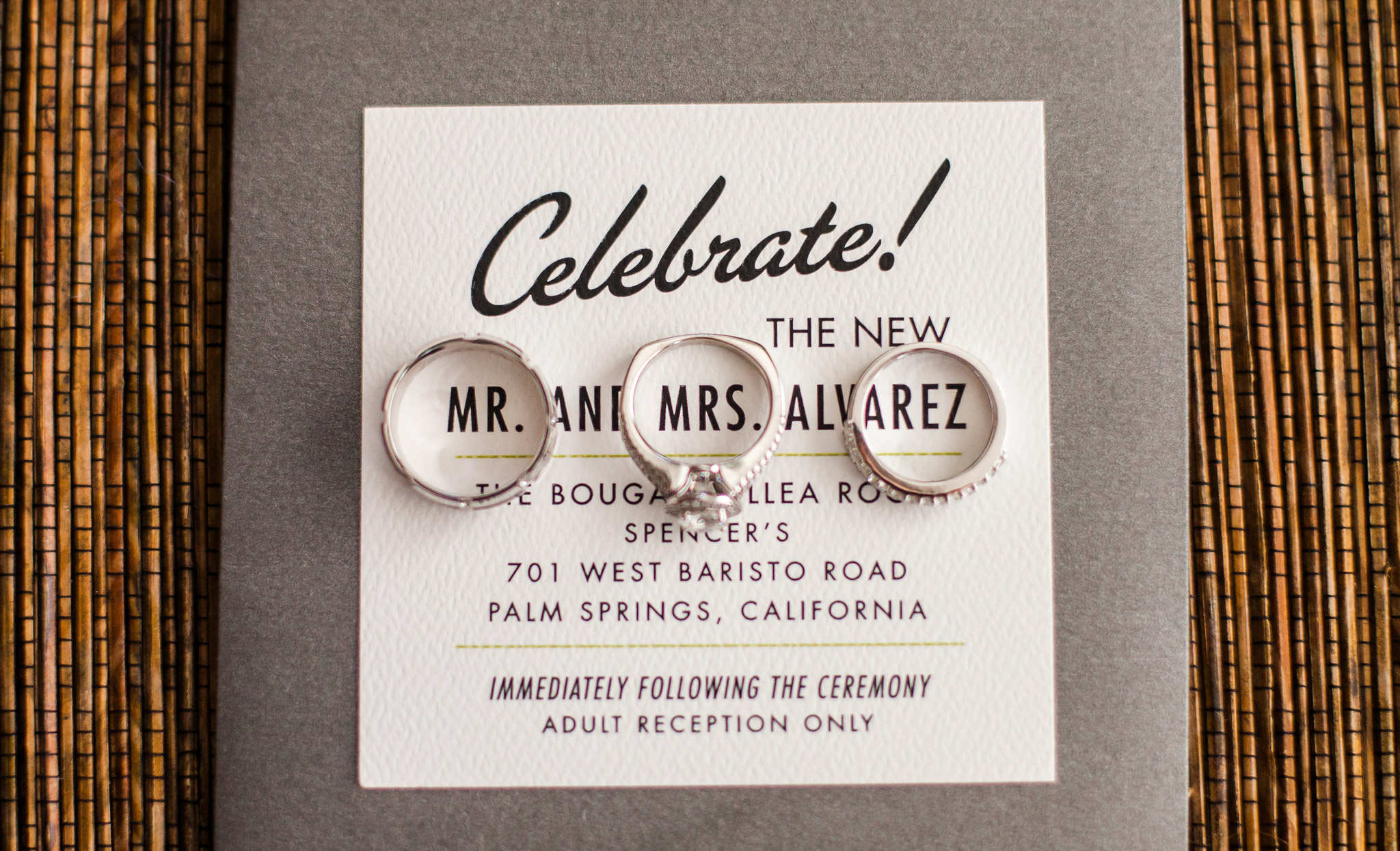 Los Angeles Wedding Invitations: Los Angeles Wedding Photography Palm Springs Wedding