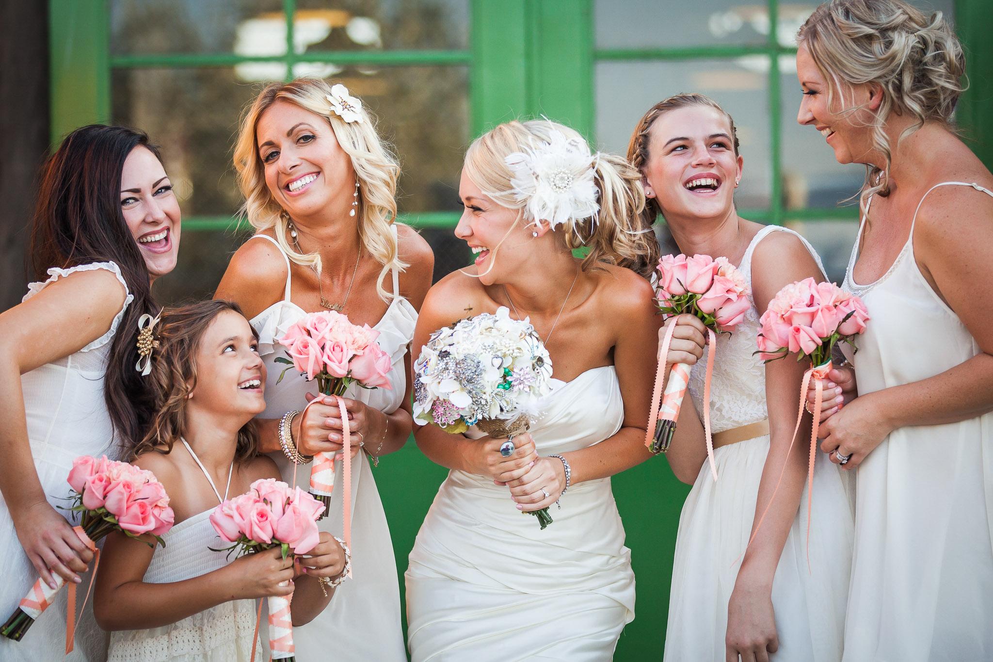 Orange County Wedding Photographer Motte Historical Museum Barn Venue Rustic Country Bridesmaids 07