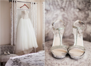 Princess Wedding Shoes | Orange County Wedding Photography Gray Wedding Shoes White Princess