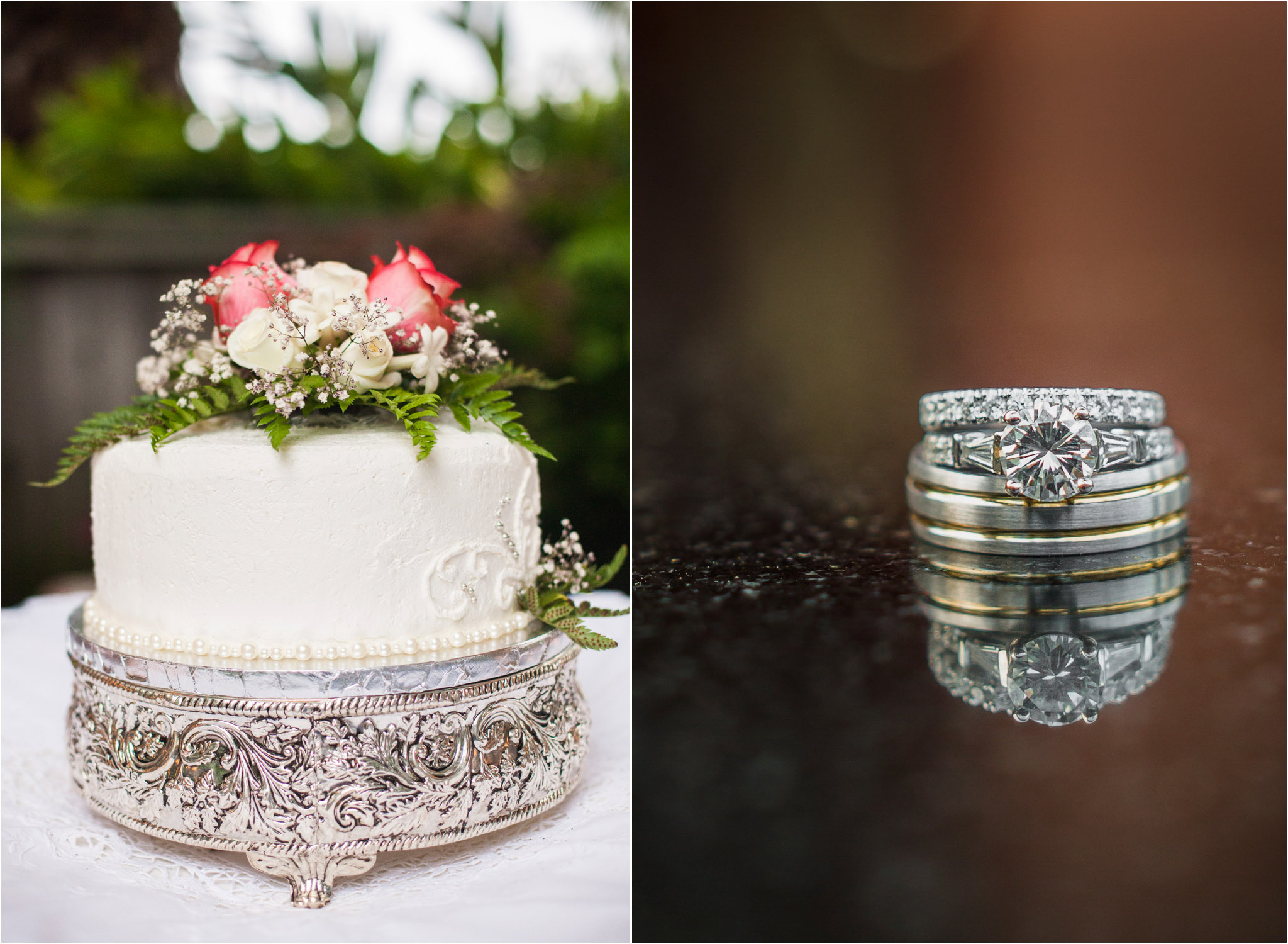 Orange County Wedding Photography Small Cake Round Ring 13