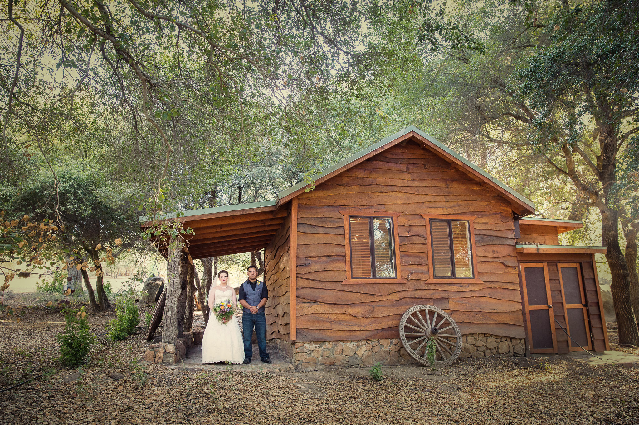 Ramona winery wedding