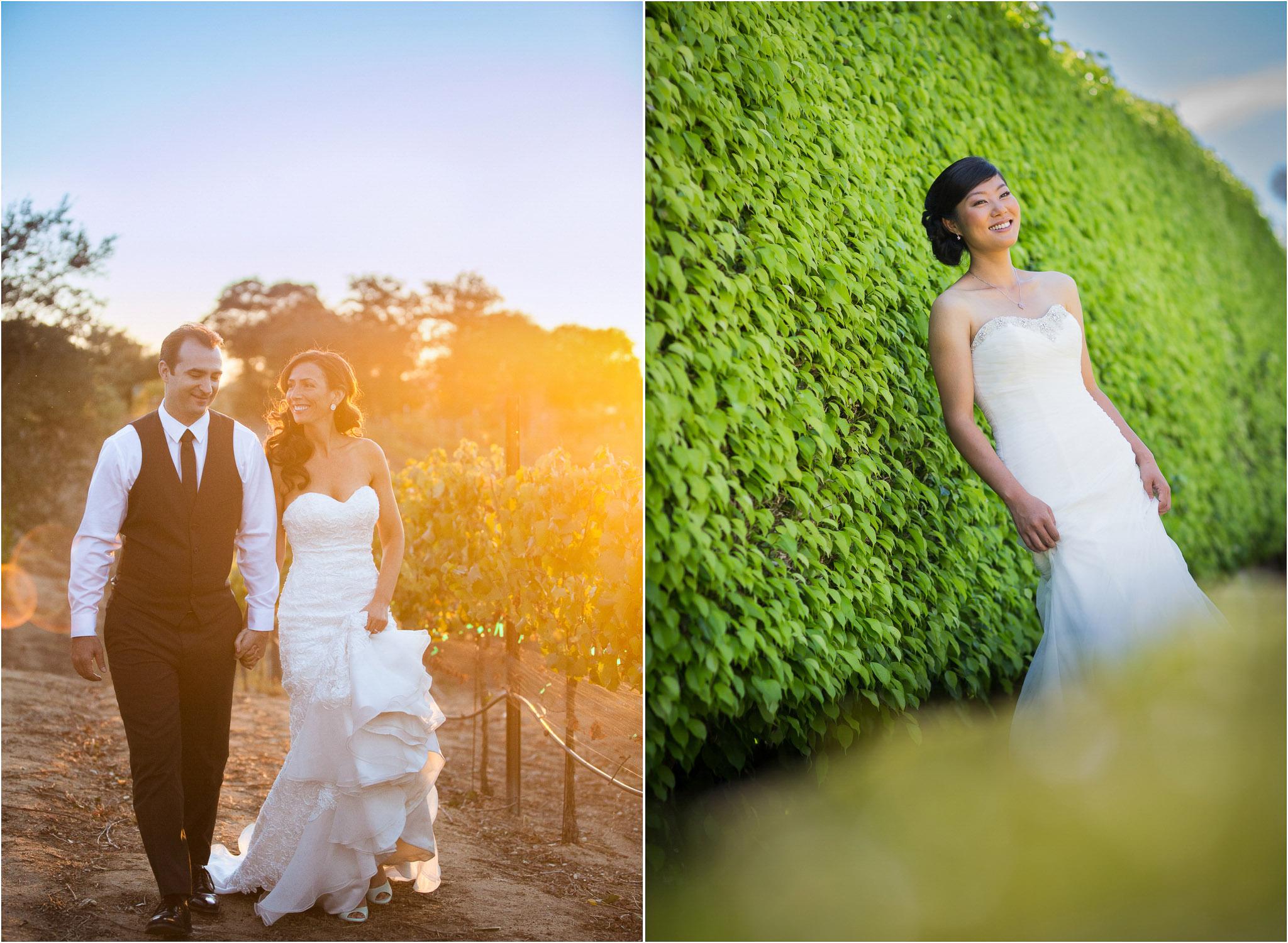 San Diego Wedding Photographer Milagro Farm Vineyards And Winery Ramona Photography Country Rustic Sunset 02