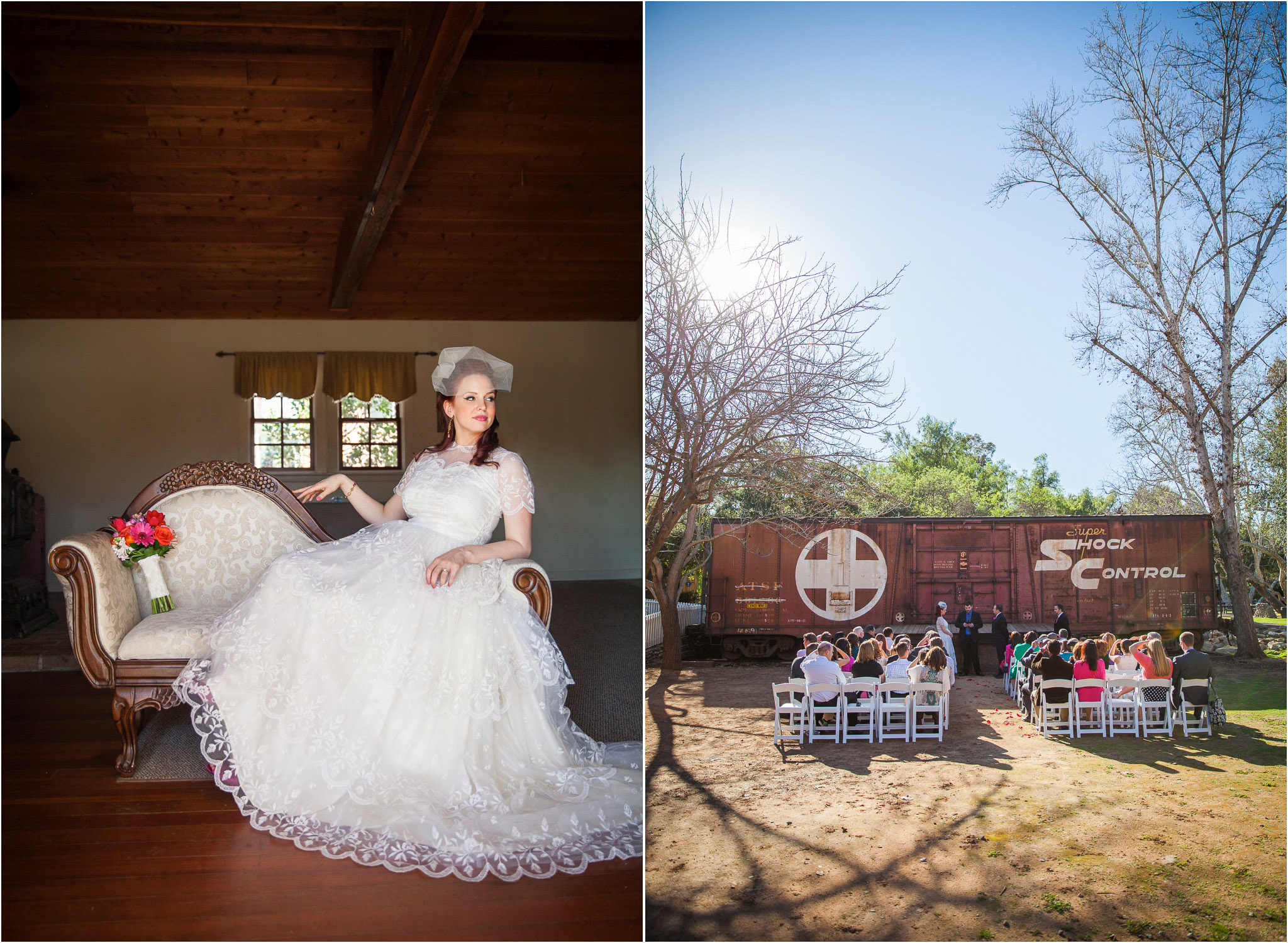 San Go Wedding Photographer Old Poway Park Rustic Vintage Train Station 02